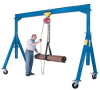 Steel Gantry Cranes: Adjustable Height Steel Gantry Cranes -- AHS-6-15-16
