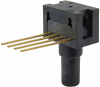 24PC Series, uncompensated/unamplified, absolute, 0 psi to 30 psi, 1x4 SIP 15,2 mm [0.60 in] long, straight port -- 24PCDFA6A -Image