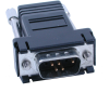 DB9 Male to RJ45 – Preconfigured for RS-232 RJ45 Serial Devices -- RJ9P-232