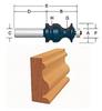 BOSCH 84621MC 1-1/16-Inch Diameter 1-5/8-Inch Cut Ogee &…