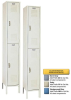 Steel Double Tier Locker -- JS5200