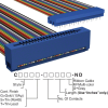 Rectangular Cable Assemblies -- C3PES-4036M-ND -Image
