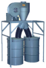 DUSTKOP® Push-Thru Cyclone Dust Collector -- 11N51-D2 - Image