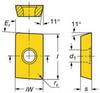 Carbide Mill Insert,APMT 16 04 08-M 4240 -- 5ARU3 - Image
