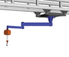 Gorbel Ceiling Mounted Articulating Job Cranes