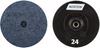 Norton NorKut ZA Coarse Arbor Thread Quick-Change Polymer Disc -- 63642503656 - Image