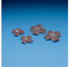 3M 341D Aluminum Oxide Cross Pad 60 Grit - 5 in Width x 5 in Length - 1 in Pad Thickness - 65335 -- 076308-65335 - Image