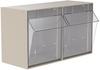 Cabinet, TiltView Cabinet 2 Bins -- 06702