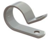 Cable Clamps - Screw Mount ,P Style, Nylon -- N-14B -- View Larger Image