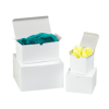 "4"" x 4"" x 4"" White - Gift Boxes -- GB444"