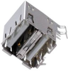 TE CONNECTIVITY / AMP - 5787745-1 - USB TYPE A CONNECTOR RECEPTACLE 8POS THD -- 376294