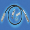 Cable Assemblies and IO cable connectors, IO cable connectors, SFF High Speed IO Connectors and Cages, QSFP+ High Speed IO Connectors, QSFP+ IO Cable assembly, Channel Bandwidth=<= 10Gb/s -- 10093084-2005HFLF - Image
