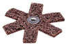 Standard Abrasives 727238 A/O Aluminum Oxide AO Surface Conditioning Star - Eyelet Attachment - 4 in Diameter - 1/4-20 Center Hole - 37697 -- 051115-37697