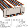 Rectangular Cable Assemblies -- M1BXA-2436R-ND -Image