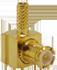 MCX Male Right Angle Cable End Crimp -- CONMCX012-R178 -- View Larger Image