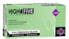 High Five Vinyl Gloves, Clear, Powder free, Large, 100/box -- GO-86233-47