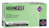 High Five Vinyl Gloves, Clear, Powder free, X-large, 100/box -- GO-86233-48