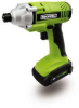 ROCKWELL 1/4 In. 18 V LithiumTech™ Impact Driver -- Model# RK2800K2