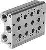 PRS-ME-1/8-8 Manifold block -- 33411