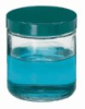 GLC-01706 - Qorpak Precleaned Clear Jar, wide mouth, 480 mL, pulp/vinyl-lined cap, case of 12 -- GO-34608-45