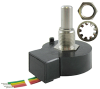 600 Series optical encoder, 128 pulse per revolution, 2-square wave, 190,5 mm [7.5 in] cable, mounting hardware included -- 600-128-CBL