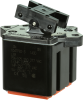 TP Series Rocker Switch, 4 pole, 2 position, IWTS (16-20 Gage) terminal, Above Panel Mounting -- 104TP82-3 -- View Larger Image