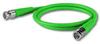 Canare RG59 BNC-BNC 10' Green -- CANVAC010FGRE