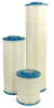 HC/90-100 - Filter Cartridge, Pleated Polyester, 100 micron nominal-rated, 19-1/2