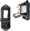 Power Entry Connectors - Inlets, Outlets, Modules -- 486-1104-ND