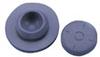 W224100-405 - Stopper, 20mm, Straight Plug, Ultra Pure, Gray Butyl, 1000/CS -- GO-08919-05