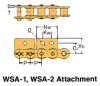 BS/DIN Chain Attachment Series -- RS08B WSA-1 - Image