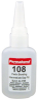 Permabond 108 General Purpose Cyanoacrylate Adhesive Clear 1 oz Bottle -- 108 1 OZ BOTTLE - Image