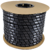 20031 Spiral Wrap Polyethylene Black Tubing, 1/2