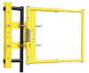 Adj Safety Gate,16 to 26 In,Yellow -- 3VRX5 - Image