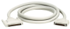 Micro D 68 Male to Micro D 50 Male Cable, SCSI-3 to SCSI-2, Straight Hood, 2-ft. (0.6-m) -- EVMS4-0002