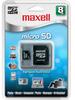 Maxell MicroSD Card 8GB Class 2