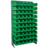 "36"" x 12 1/2"" x 66"" - Floor Rack Bin Organizer -- BINR3666 -- View Larger Image"