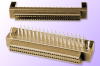 1.27mm Female SCSI Header, Right-Angle, Unshielded -- Series = CMDR - Image