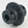 Precision 1-Piece Clamp-Type Sleeve Flange Couplings -- 5L008008KPXC - Image