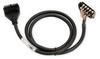 CABLE 10-TERM/24-PIN 2m (6.6ft) ZIPLINK FOR DL205 -- ZL-D2-CBL10-2 - Image