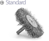 Mandrel Mounted Wheel Brushes -- BMC-14