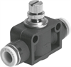 GR-QB-1/2-U One-way flow control valve -- 534685 - Image