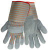 Global Glove 2300 Blue XL Split Cowhide Leather Full Fingered Work & General Purpose Gloves - Wing Thumb - Uncoated - 2300GC XL -- 2300GC XL