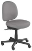 Chair,Anti-Microbial,39H,Gray,Polyester -- 4YCU5