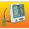 6400CP - Cole-Parmer Refrigerator/Freezer Thermometer with Bottle Probe and Memory Card -- EW-37803-84