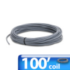 CABLE RS232/422 100ft COIL 2 TWISTED PAIRS 24AWG PVC -- L19772-100 -- View Larger Image