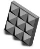 Carbide Gripper Pad - Square - 3/8 in X 1/8 in - Fine -- CS-3