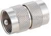 UHF Male (Plug) to UHF Male (Plug) Adapter, Nickel Plated Brass Body, 1.3 VSWR -- FMAD1190 - Image