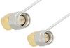 SMA Male Right Angle to SMA Male Right Angle Cable 12 Inch Length Using PE-SR047FL Coax, RoHS -- PE34209LF-12 -Image