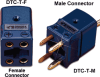 Dual Circuit Thermocouple Connector -- DTC - Image